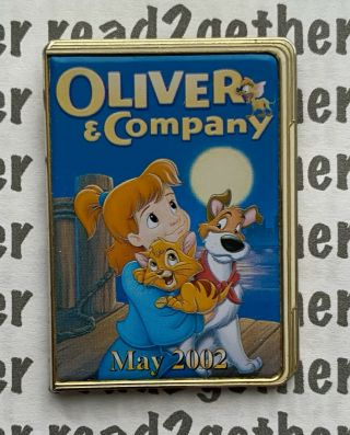 Disney Pin 12 Months Of Magic Dvd Case Oliver And Company