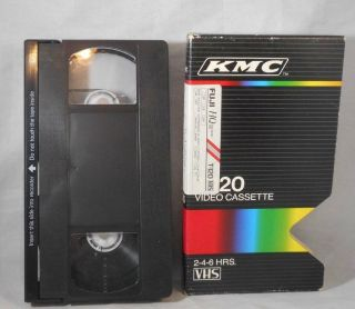Vintage Kmc T - 120 Blank Tape David Copperfield Great Wall China Mayberry