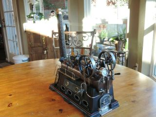 German - Made Doll 512/2 Overtype Twin Cylinder Steam Engine