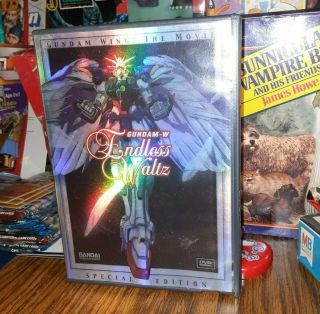 Bandai Mobile Suit Gundam Wing The Movie Dvd Endless Waltz Special Edition