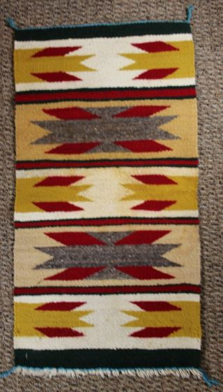 "Navajo Rug Gallop Throw 18 1/2 "" X 34 1/2 """