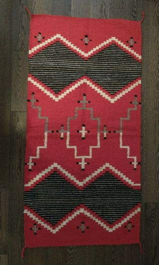 Native American Indian 29 X 59 Saddle Rug Blanket - Ethnic Tapestry