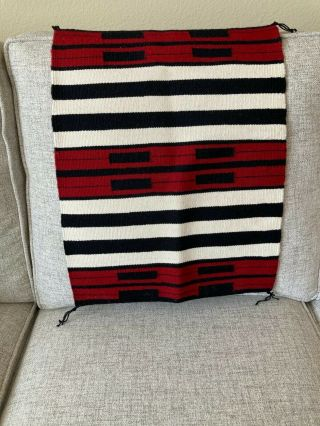 Navajo Rugs Textiles,  Extreme Fine Quality Weaving,  Tapestry Quality 16 X20 Inch