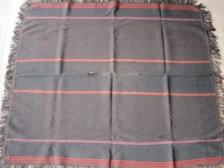 Authentic Old Bolivian Weaving Manta Poncho Textile Cloth Bolivia Andes 12