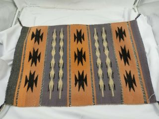 Navajo Small Rug 4 Color 27 X 18 ""