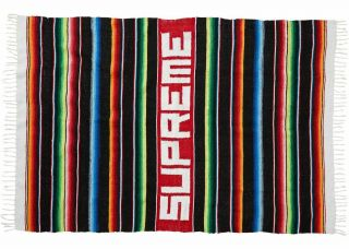 Supreme Serape Blanket Multicolor - And