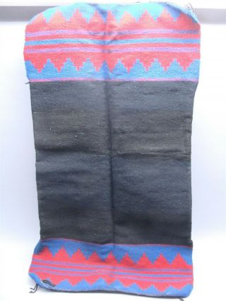 Native American Navajo Red/black/blue Rug Biil Dress