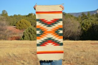 Vintage Navajo Indian Rug