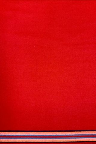Trade Cloth 10 - Band Red 100 Wool