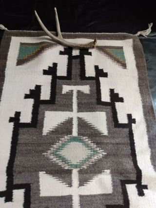 Southwestern Native American Indian Hand Woven Rug