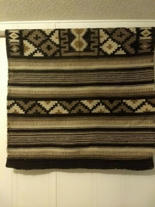 Wool Poncho/serape From Mexico