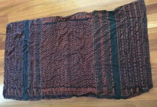 Vintage Indonesian Textile Weaving From Flores Island,  Indonesia