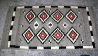 Navajo Rug,  Vg,  Mexican?,  Runner Type,  Good Color 4