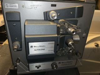 Vintage Bell & Howell Autoload 357b 8 Movie Projector Needs Bulb