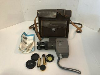 Canon Zoom 8 Vintage 8mm Movie Camera With Case -