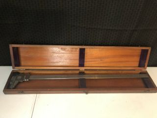"""Vintage Brown And Sharpe Vernier Calipers 25 """""""