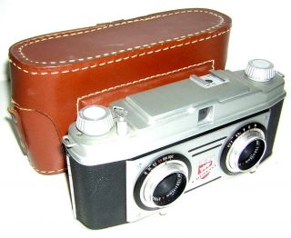 Vintage And Tdc Stereo Colorist 35mm Film Camera W/case