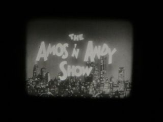 """16mm Vintage Tv Show Amos & Andy """" The Society Party """" Vg Print 1200"""
