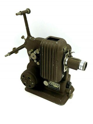 Vintage Excel Model 34 Movie Projector - Powers On And Lights Up