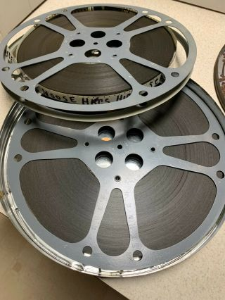 """Vintage 16mm Movie - """" The Noose Hangs High """" - Abbott And Costello 1948 (2 Reels)"""