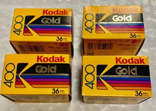 Kodak Gold 400 Iso 36 Exposure Expired Film (1992 Expiration Date) - Vintage