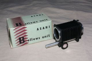 Vintage Asahi Bellows Unit 1957 M42