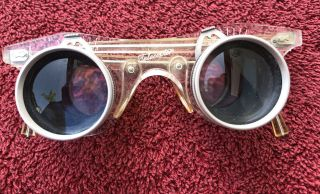 Vintage Antique Telecopter Hands - Binocular Glasses Made In France