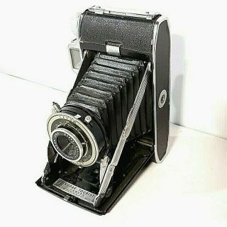 Vintage Kodak Bellows Tourist Vintage Camera F/ 8.  8 100mm Anaston Lens