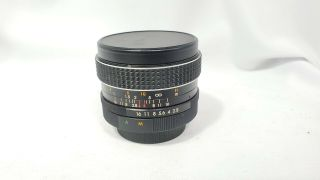 Vintage Promaster Auto Mc 28mm F/2.  8 Lens For M42 Mount.  Japan.