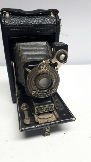Vintage No 1 Kodak Jr Autographic Camera,  1922,  Stylus Pen,  Eastman,  Canadian