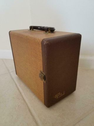 Vintage Realist Slide Storage Box Case File With 4 Drawers