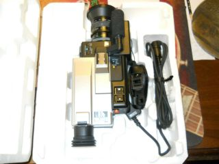 Vintage Hitachi Vk - C840 Saticon X6 Zoom Lens Color Video Camera