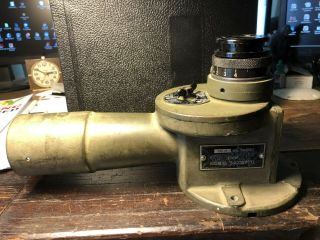 Vintage Ww2 1942 Elbowtelescope M75f Optics &