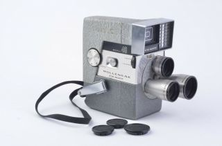 Vintage Wollensak Eye - Matic Model 46 Movie Camera,  Very,  W/lenses