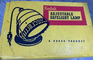 Kodak Dark Room Safelight - Vintage It