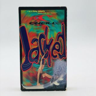Vintage Vhs O'neill Jacked Extreme Surfing Adam Replogle Cory Lopez