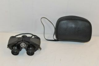 Vintage Bushnell 8x20 Binoculars Japan No.  1869 With Case