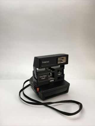 Vintage Polaroid One Step Flash 600 Instant Film Camera