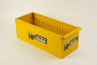 Vintage Kodak Advertising Print Envelope Storage Bin Drawer