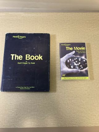 Flicking Fingers The Book And The Movie Dvd.  First Edition.  Kaufman