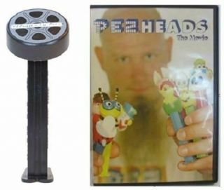 Pezheads The Movie Dvd And Pez - Dvd And In Bag Pez - 2011