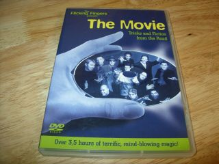 The Flicking Fingers Present: The Movie - Close - Up Magic On Dvd (over 3.  5 Hrs)