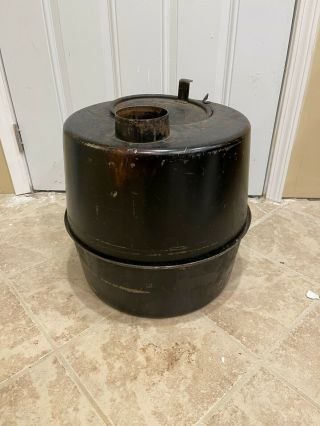 Vintage M - 1941 Tent Stove Us Army Military Wood Or Coal Camping Surplus