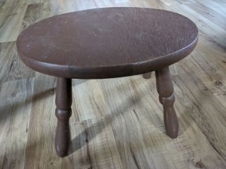 Vintage Wooden Small Foot Stool