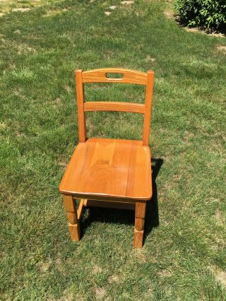 Chair Wooden Child's Small