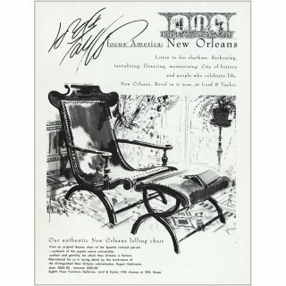 1984 Lord & Taylor: Orleans Listen To The Rhythms Vintage Print Ad