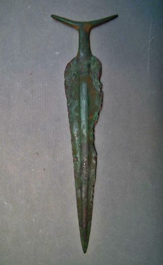 Ancient Indian Aryan Copper Sword Vedic Period 1500 - 500 B.  C India Very Rare