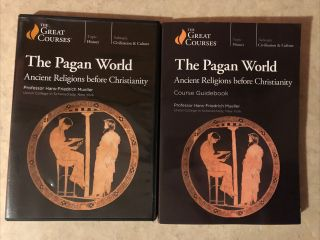 The Pagan World: Ancient Religions Before Christianity Dvds,  Guidebook