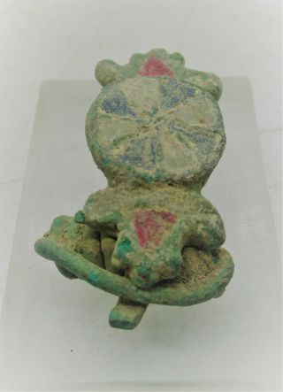 Detector Finds Ancient Roman Enamelled Bronze Military Brooch