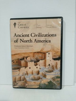 The Great Courses: Ancient Civilizations Of North America (4 - Dvd Set,  2018)